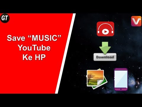 Cara Download Video Musik Di Youtube Jadi Mp3 (VidMate)
