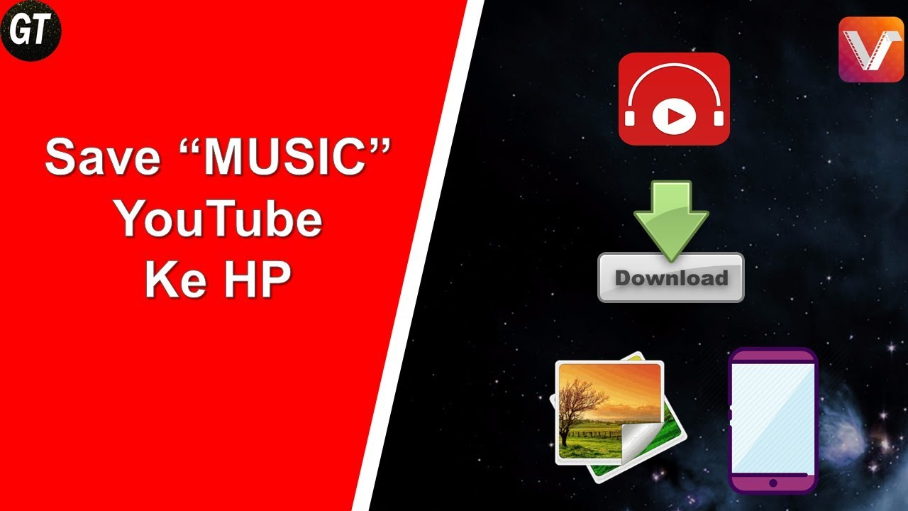 Cara Download Video Musik Di Youtube Jadi Mp3 Vidmate Youtube