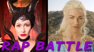 MALEFICENT vs DAENERYS: Princess Rap Battle (Yvonne Strahovski & Whitney Avalon) *explicit* thumbnail