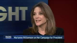 Marianne Williamson on Politics Tonight on WGN Chicago  -  Part 1