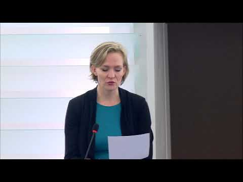 Marietje Schaake 08 Feb 2018 plenary speech on Human Rights Center Memorial