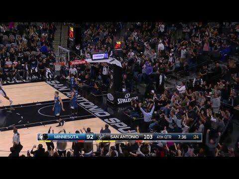 Quarter 4 One Box Video :Spurs Vs. Timberwolves, 1/17/2017 12:00:00 AM