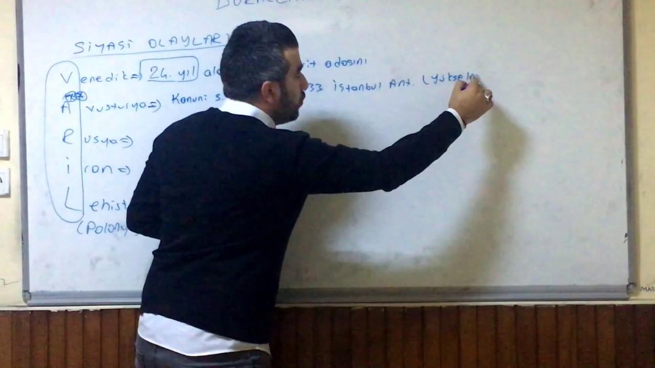 Tarihi Sevdiren Hoca-YKS TYT TARİH 2018 17 Dakikada 17.yy Osmanlı