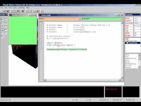 Visual Tkinter - YouTube