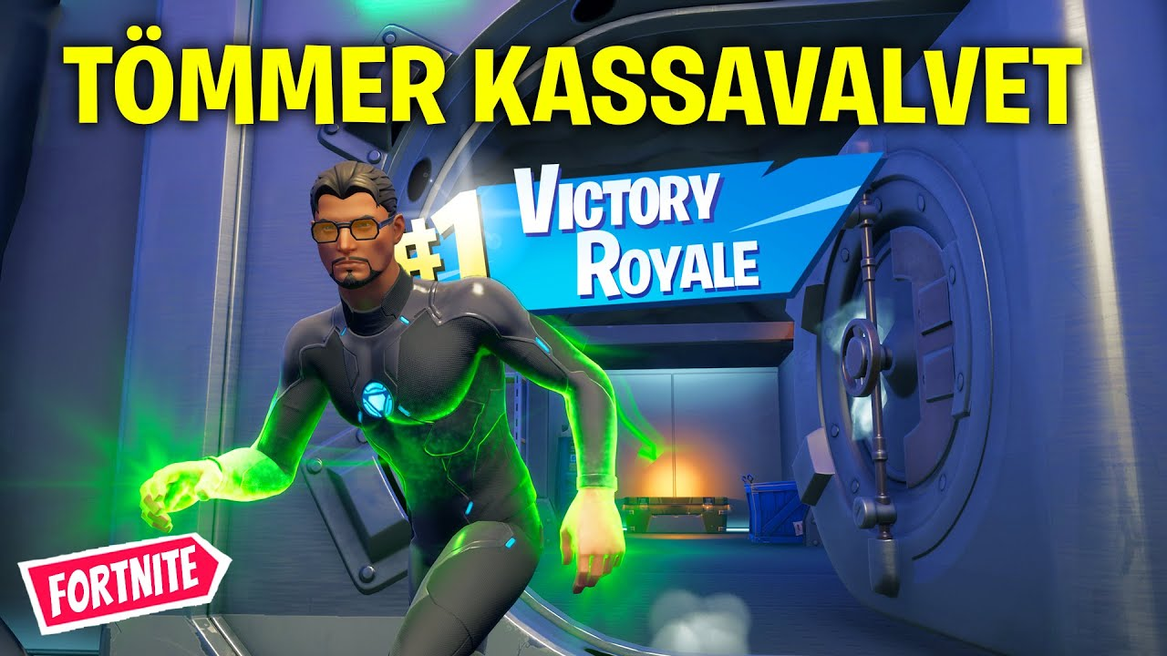 ÖPPNAR DOCTOR DOOMS KASSAVALV I FORTNITE & JAGAR LEVEL 100! *FORTNITE SÄSONG 14 SOLO*