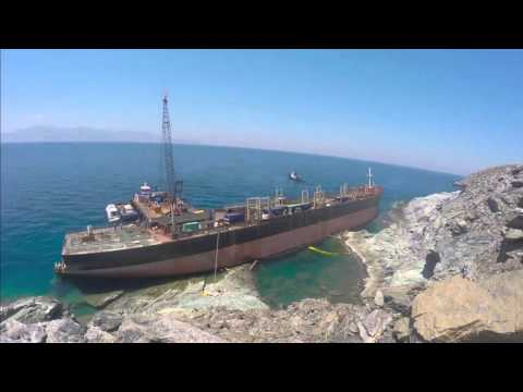 WRECK REMOVAL OPERATION OF M/V GOODFAITH, ANDROS, GREECE 28-9-2015