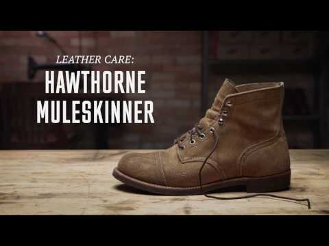 Red Wing Heritage - Hawthorne Muleskinner (Roughout) Leather Care