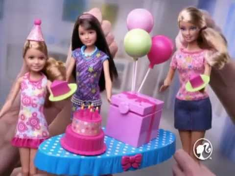 Mattel Barbie Chelsea Birthday Party YouTube