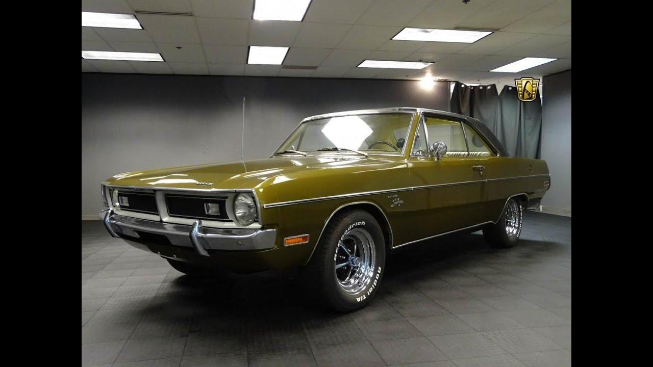 1971 Dodge Dart Swinger Stock # 748-DET - YouTube