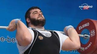 Чемпионат Европы 2015. Мужчины в.к. св. 105 кг.