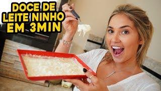 COMO FAZER O MELHOR DOCE DE LEITE NINHO EM APENAS 3MIN??!!