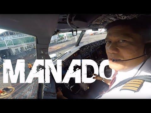 Cockpit View - Manado to Makassar