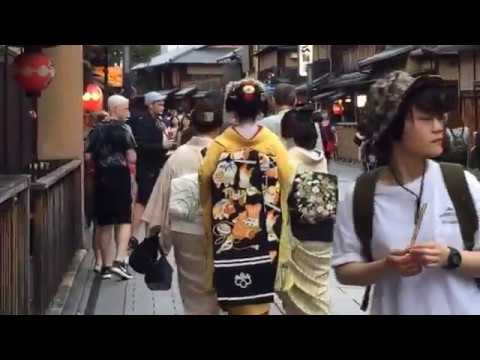 Ep. 1 Geishaspotting: In search of #geisha in the #Gion district of #Kyoto, #Japan