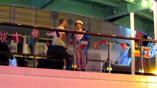 BSBcruise2010 - Brian and AJ dancing - International Luv Night