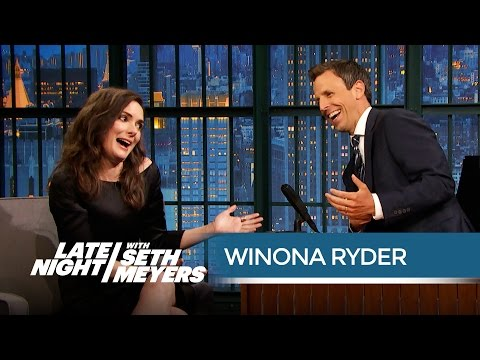 Winona Ryder: The Beetlejuice Sequel Is Happening!  Late Night with Seth Meyers