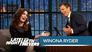 Winona Ryder: The Beetlejuice Sequel Is Happening! - Late Night with Seth Meyers