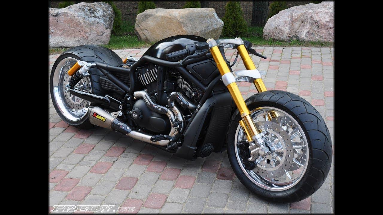 harley davidson v rod custom bikes youtube. Black Bedroom Furniture Sets. Home Design Ideas