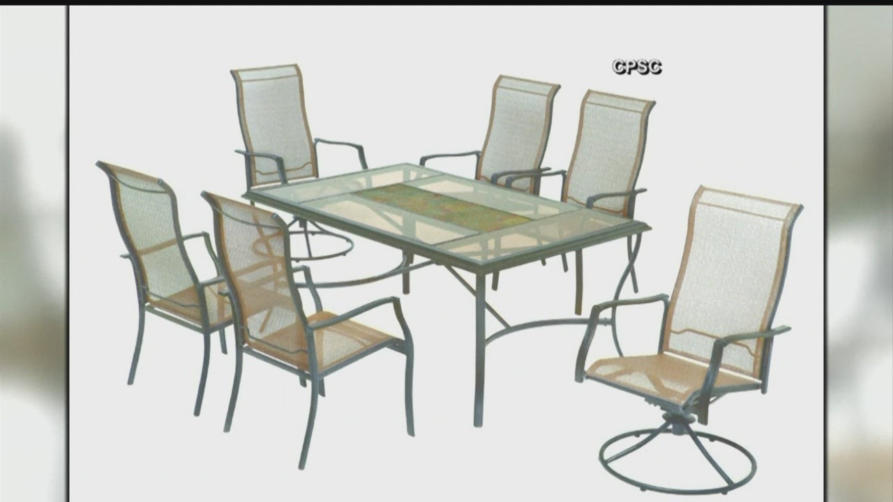 swivel patio chairs sold at home depot recalled for fall hazard - Swivel Patio Chairs