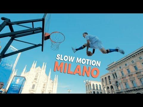 Amazing Slam Dunk in SlowMo | NBA zone Milano | Dunking Devils
