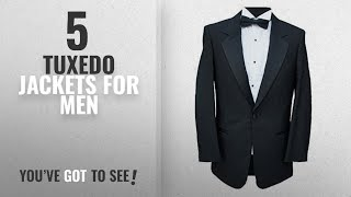 Top 10 Tuxedo Jackets For Men [2018]: Clermont Direct Ex-Hire 1 Button Dinner Jacket