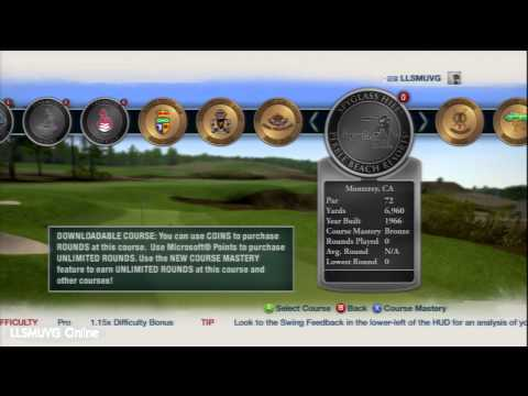 Tiger Woods PGA TOUR 13 Course Selection
