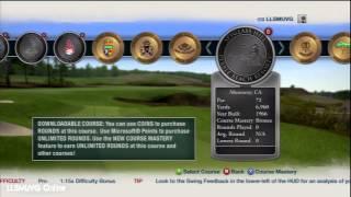 Tiger Woods PGA TOUR 13 Course Selection