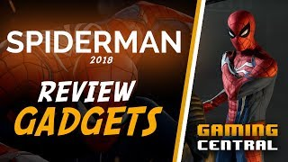 Spider-Man Ps4 2018 Game Gadgets Review - With New Gameplay - NO Spoilers
