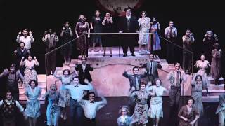 Lullaby of Broadway, 42nd Street, the University of Alabama, Spring 2015