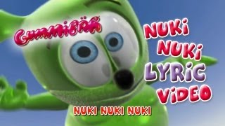 Nuki Nuki (The Nuki Song) LYRIC Video Gummibär The Gummy Bear