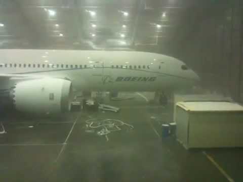 FlightBlogger - Frosty Dreamliner - April 22, 2010