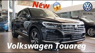 Volkswagen Touareg Atmosphere 2019 first full in depth review in 4K - Innovision cockpit details