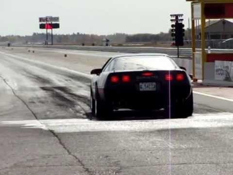 C4 L98 Corvette 1/4 mile pass 13.78