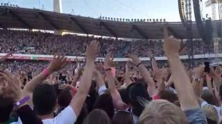 Håkan Hellström - Vi två 17 år (Live at Ullevi 2016-06-04)