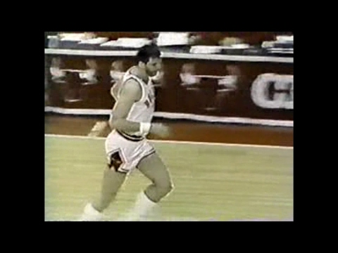Dave Corzine (17pts) vs. Pacers (1985)