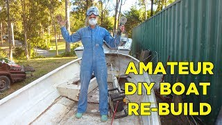 DIY boat refurbishment - Episode #1