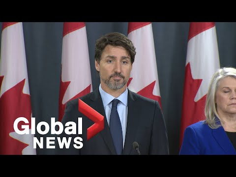 Iran plane crash: Trudeau says families of Canadian victims will receive $25,000