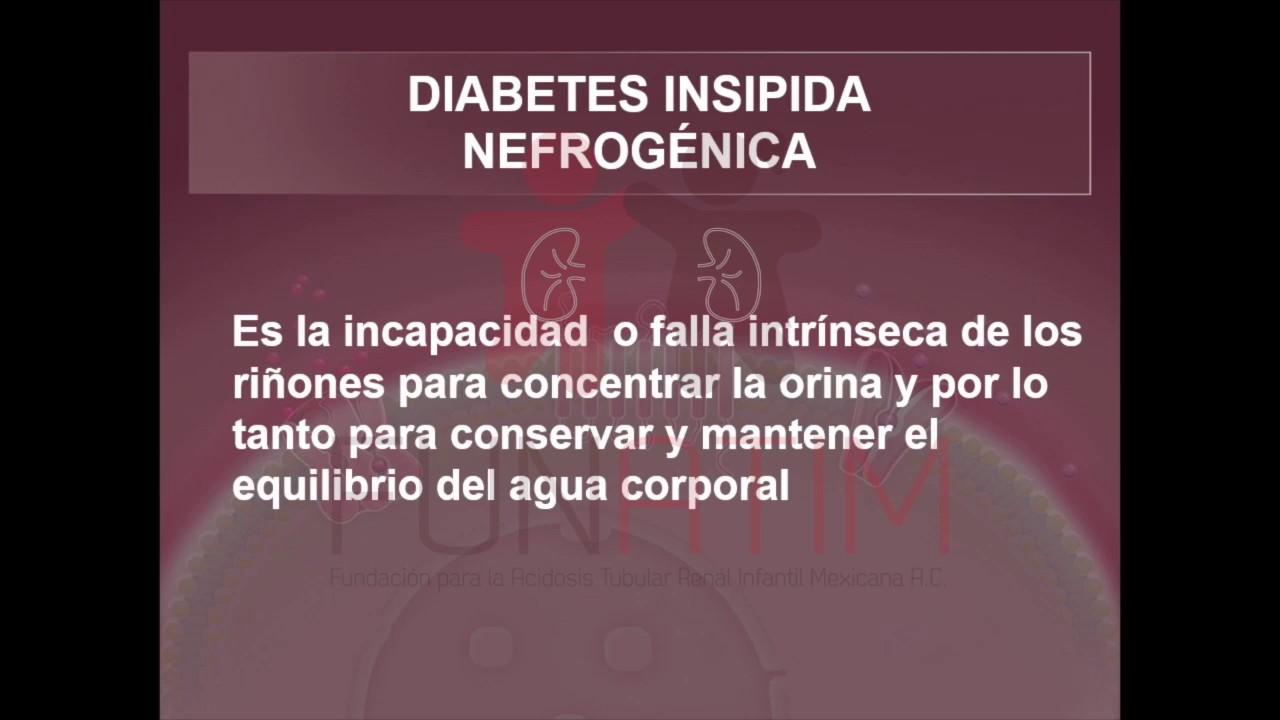 diabetes mellitus nefrogénica