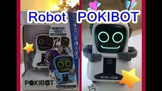 silverlit Robot POKIBOT 'u nceledik.   ipek mini  best robot for kids- package review