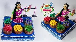 Easy Crafts To Make -  DIY Crafts Ideas To  Vegetable selling women