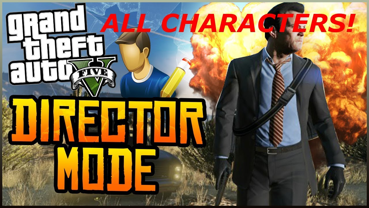 how to open the menu in gta director mode