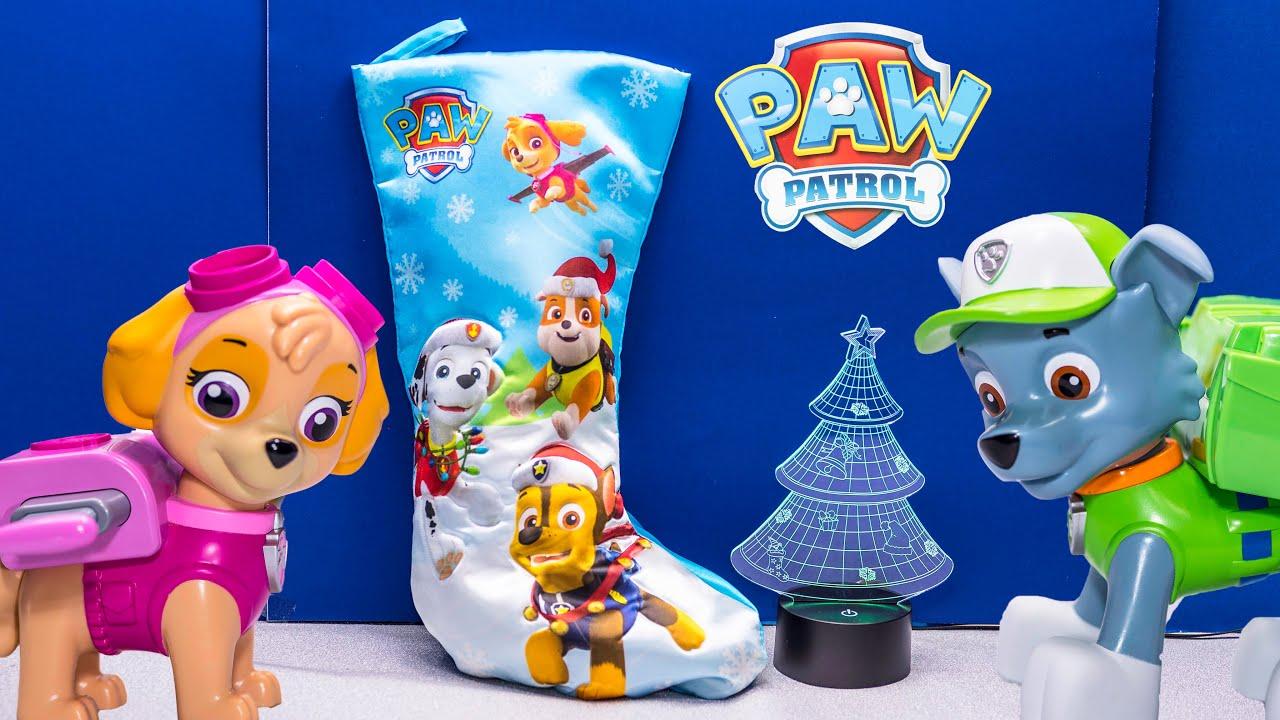 PAW PATROL Nickelodeon Paw Patrol Surprise Stocking with Blaze ...