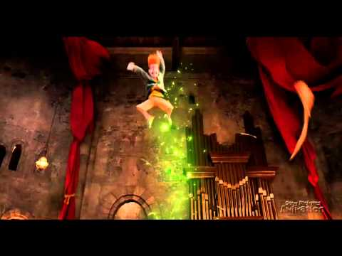Hotel Transylvania: Genndy Tartakovsky Blur Shot Build