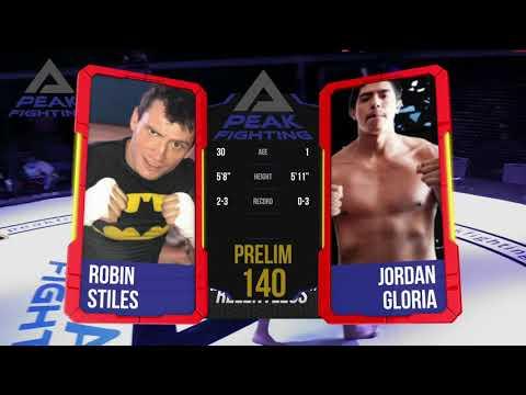 Peak 5   Robin Stiles v Jordan Gloria
