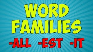 Workout With The Word Families 5 Word Family Song Jack Hartmann