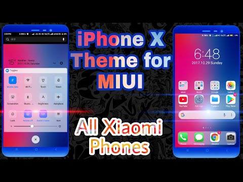 Download Ios Themes For Miui 9 Pure Iphone Look Xiaomi Phone Only
