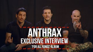 Anthrax Talk 'For All Kings' Album