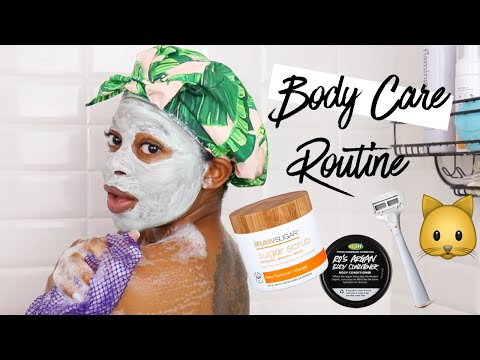 My Shower Routine 2019  Shave Feminine Hygiene SPF & More
