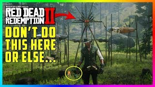 If You Do This At The Native Burial In Red Dead Redemption 2 Something SPOOKY Will Happen To You!
