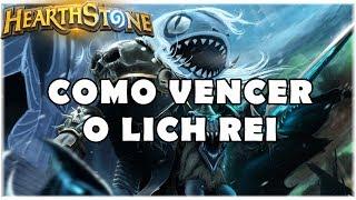 HEARTHSTONE - COMO VENCER O LICH REI! (DECKS BARATOS)