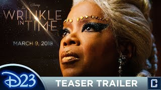 A Wrinkle in Time Trailer Review- D23 Expo 2017